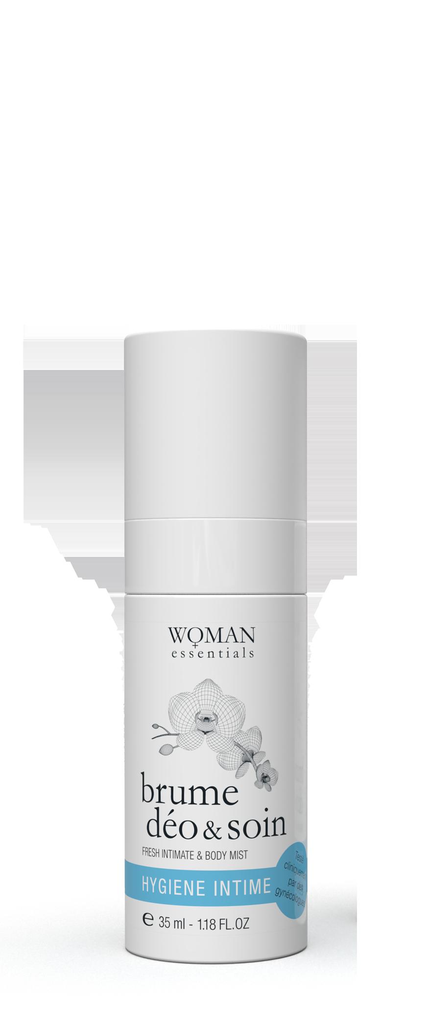 woman essential intimate deodorant deo spray feminine freshness mist natural anti perspirant hygiene